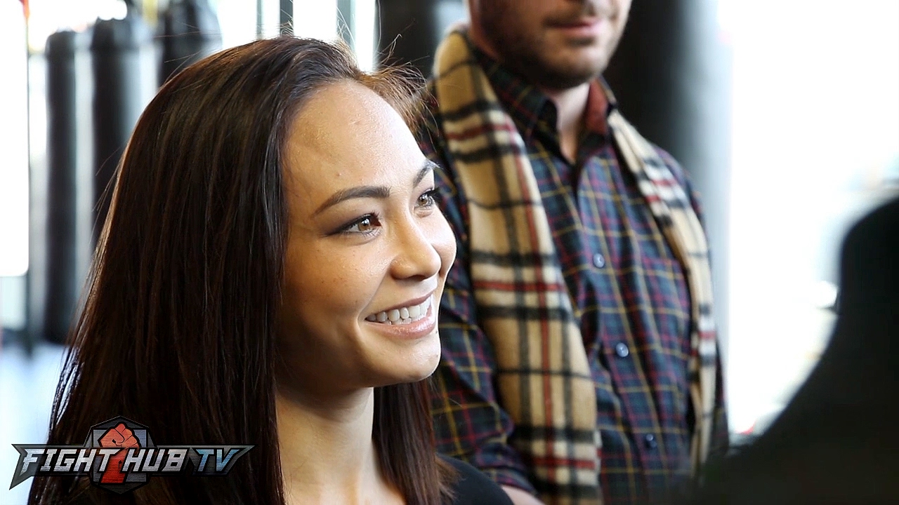Michelle Waterson: Going the distance with Joanna Jedrzejczyk was ...