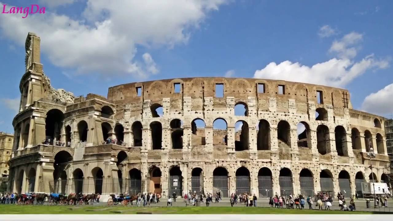 Colosseum, Rome Italy Travel Video HD