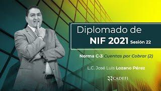 Cadefi - Diplomado De NIF 2021 Sesión 22 - Norma C-3 Cuentas Por Cobrar (2)  - 18 Marzo