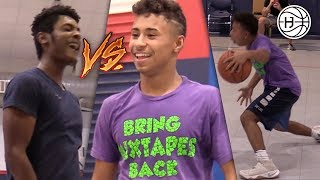 Julian Newman Goes OFF In INTENSE Game of 1V1