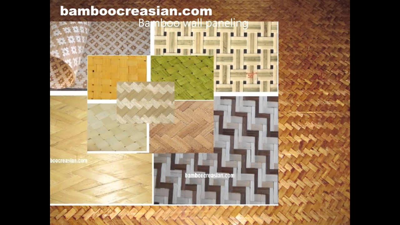 Afforda walls/ceilings covering-bamboo natural-woven matting/panels ...