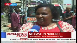 The aftermath of  the matatu crackdown in Nakuru County