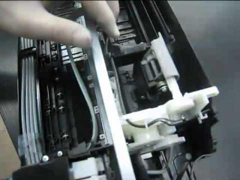 EPSON L100 ทำความสะอาดตัวfeed กระดาษและวิธีการถอดเครื่อง โดยคอมพิวท์