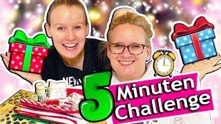 5 MINUTEN BASTEL CHALLENGE Schnelle Geschenkideen in 5 Minuten | DIY Wichtel- & Weihnachtsgeschenke