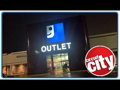 Former Circuit City Canton Ohio - PLUG IT IN to the GOODWILL OUTLET !