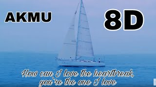 AKMU - How can I love the heartbreak, you`re the one I love 8d {use your head phone}