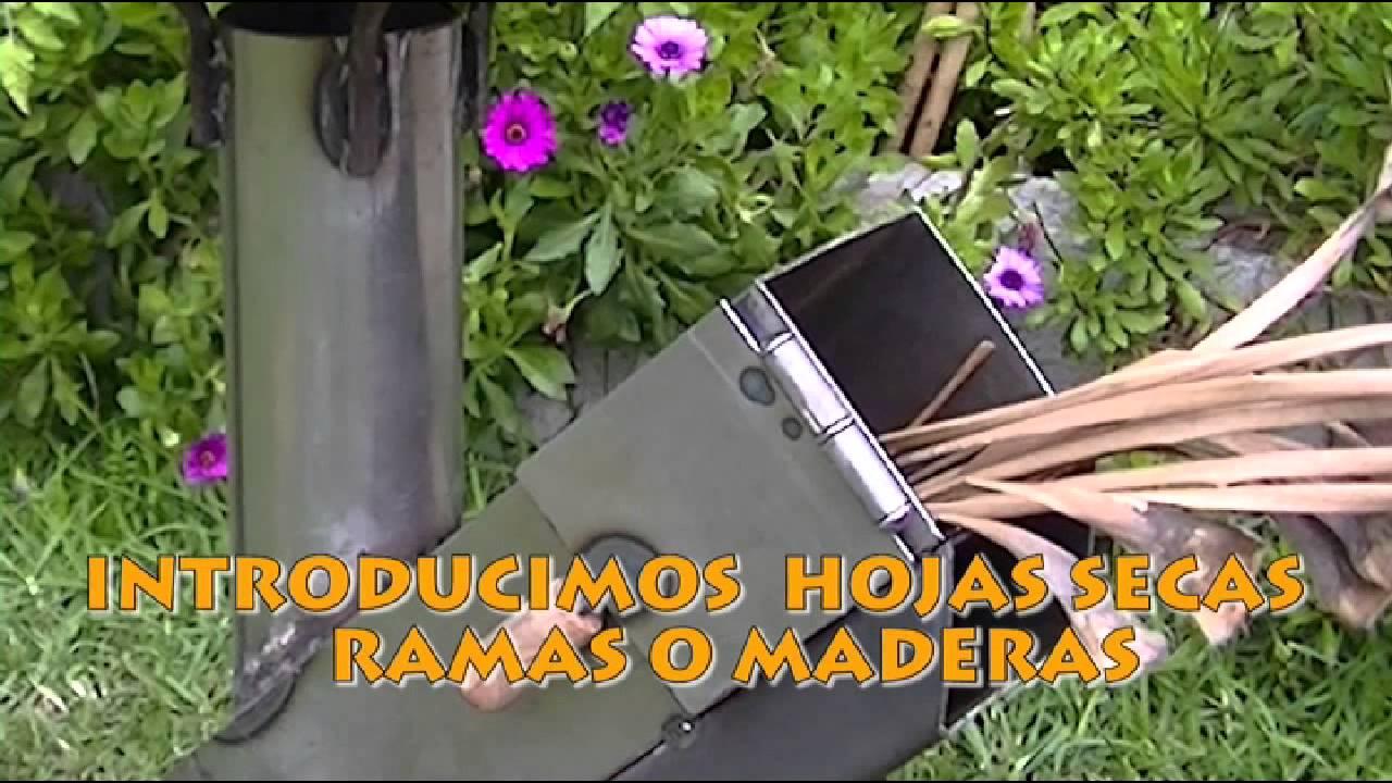 Argentina cocina cohete youtube for Planos para cocina cohete