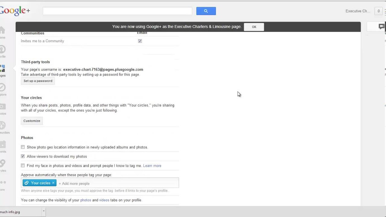 How to Delete Google Profile and Google + page - YouTube
