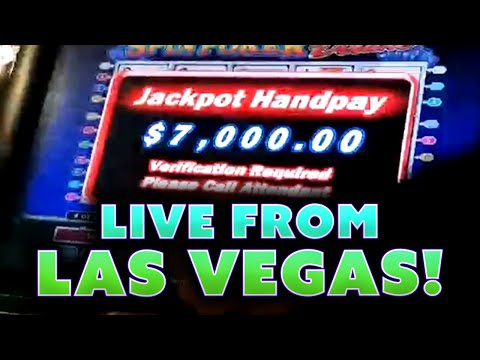 Las Vegas Casino Stream - $50 BETS IN HIGH LIMIT SLOTS And $500 BETS ON VIDEO POKER | 20+ HANDPAYS