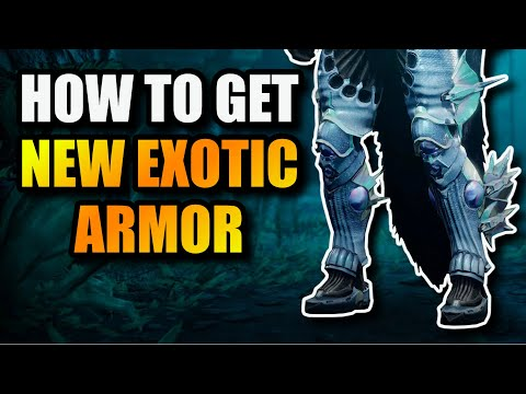 How to get NEW EXOTIC ARMOR - Star Eater, Burning Steps, Assembler