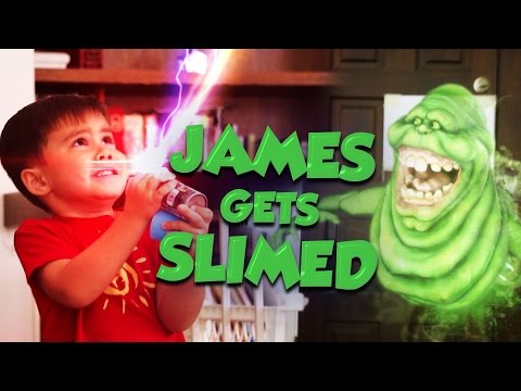 Download Youtube: James Gets Slimed!  (Ghostbusters Style)