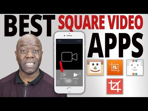 Square Video Apps For Facebook, Instagram & Twitter