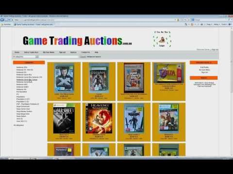 Game Trading Auctions   Introduction