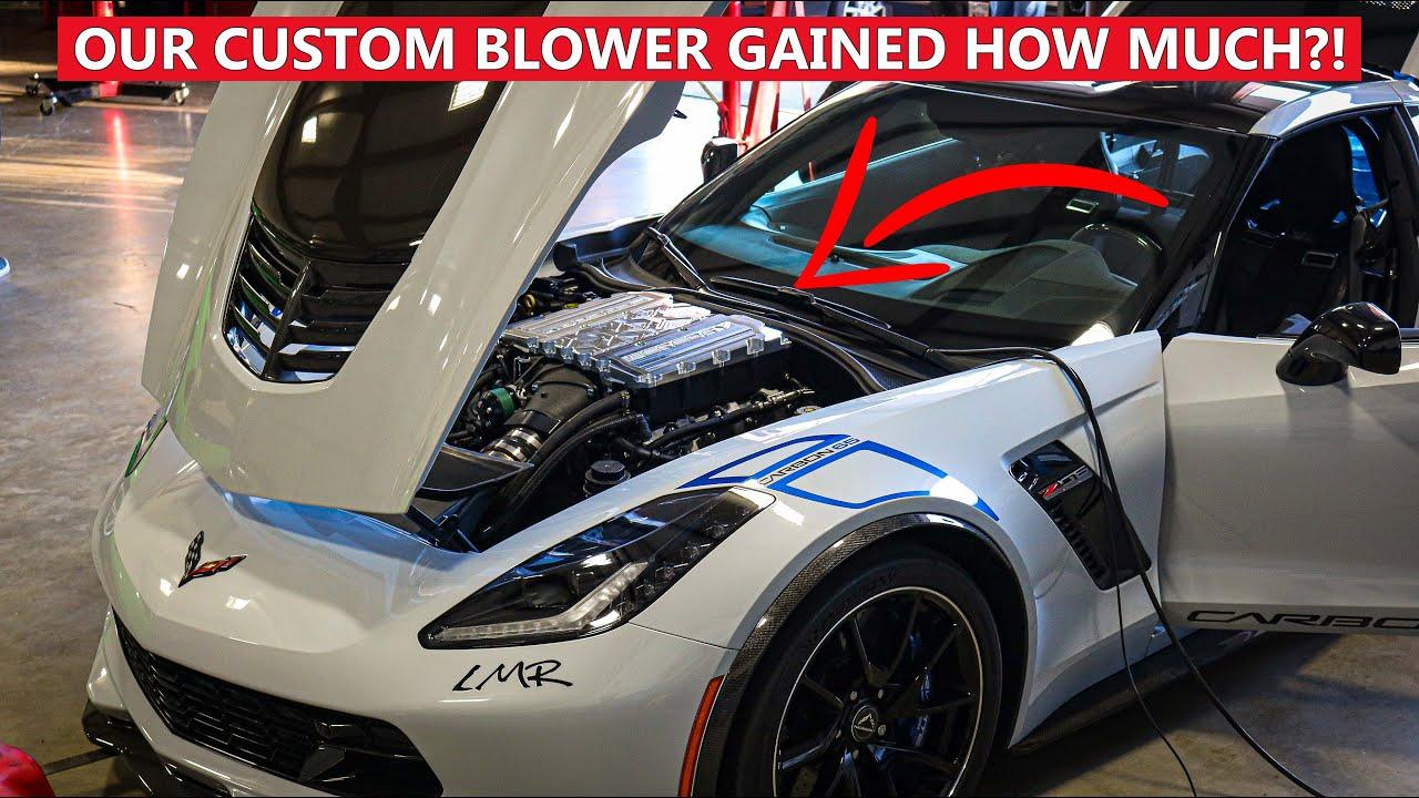 Our Custom Billet Supercharger Lid Makes HUGE Gains! (1,000hp+?)