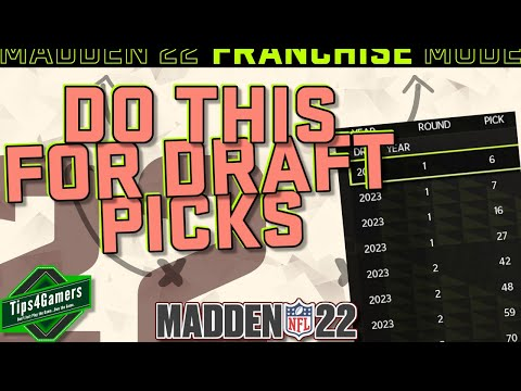 How to Trade for Draft Picks in Madden 22 & Excel in the Draft