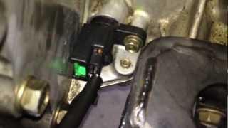 Repeat youtube video Code P0725 / P0335 / P0340 - Crankshaft Positioning Sensor Replacement DIY - Nissan.