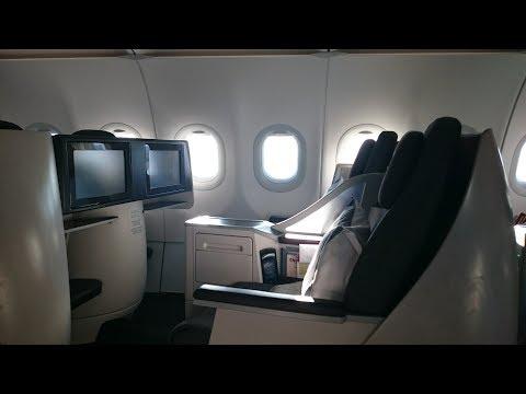 Qatar Airways - Business Class - QR136 - Pisa to Doha - Airbus A320
