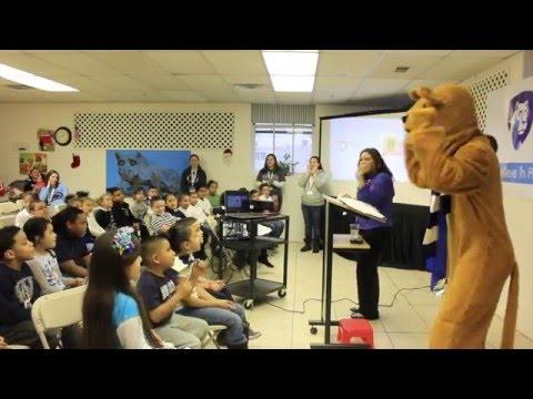 Roberto Clemente Elementary Charter School celebrating PSULV month