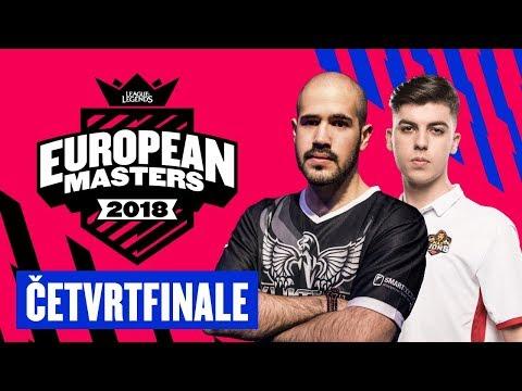 [LoL] EU Masters ČETVRTFINALE - KlikTech vs Mad Lions /w Sa1na & Delić