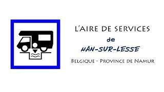 Han-sur-Lesse : aire de services pour camping-cars (Belgique - Province de Namur)