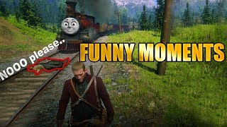 *BEST Funny Moments* Red Dead Redemption 2 - Funny Fails, Glitches| Cinematic & Commentary Fails