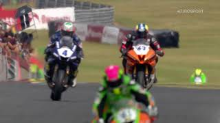 2018 Dickies British Supersport Championship, Round 4, Snetterton 300 - Sprint Race