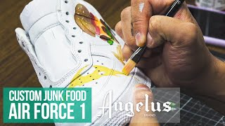 So You Want to Customize Air Force 1's? | Angelus Paint | Custom Shoes