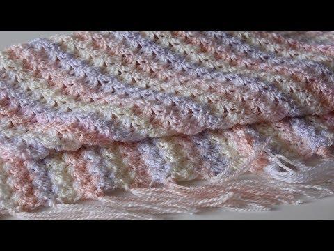 Детские пледы схемы вязания крючком