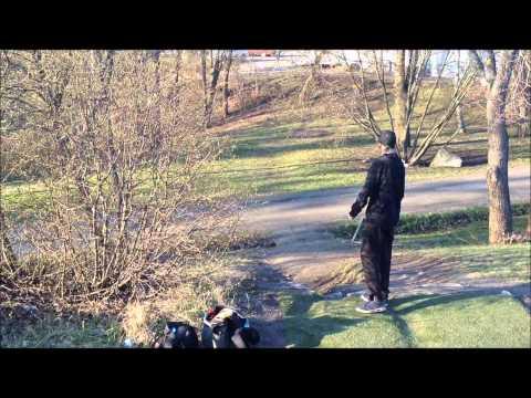 Frisbeegolf: Turun urheilupuisto rataesittely