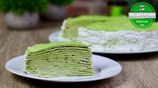 Mille Crêpes Matcha façon LADY M | NEW YORK EP2 | William's Kitchen