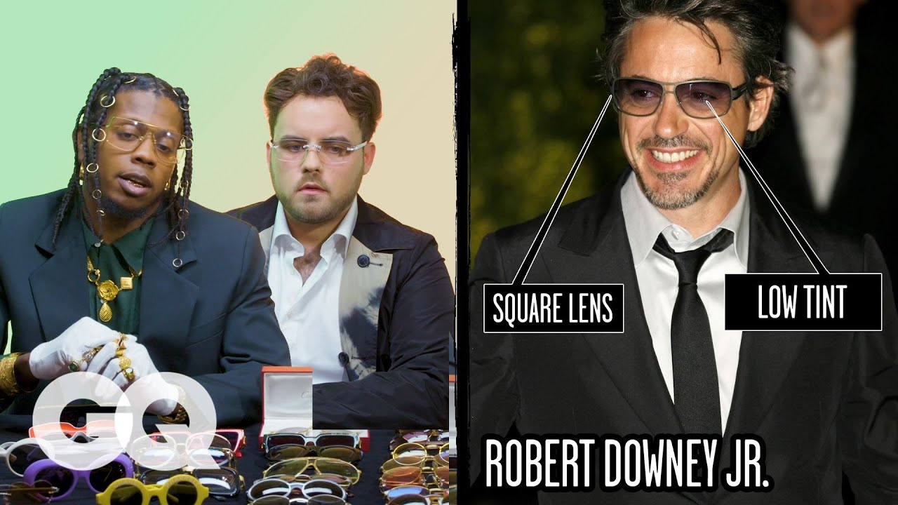 Glasses Experts Break Down Celebrity Sunglasses (Robert Downey Jr, Spike Lee) Part 2 | Fine Points