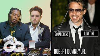 Glasses Experts Break Down Celebrity Sunglasses (Robert Downey Jr, Dapper Dan) Part 2 | Fine Points