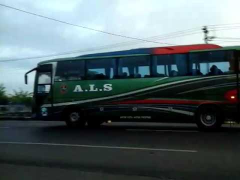 Bus A.L.S, Medan  - Jakarta - Malang PP