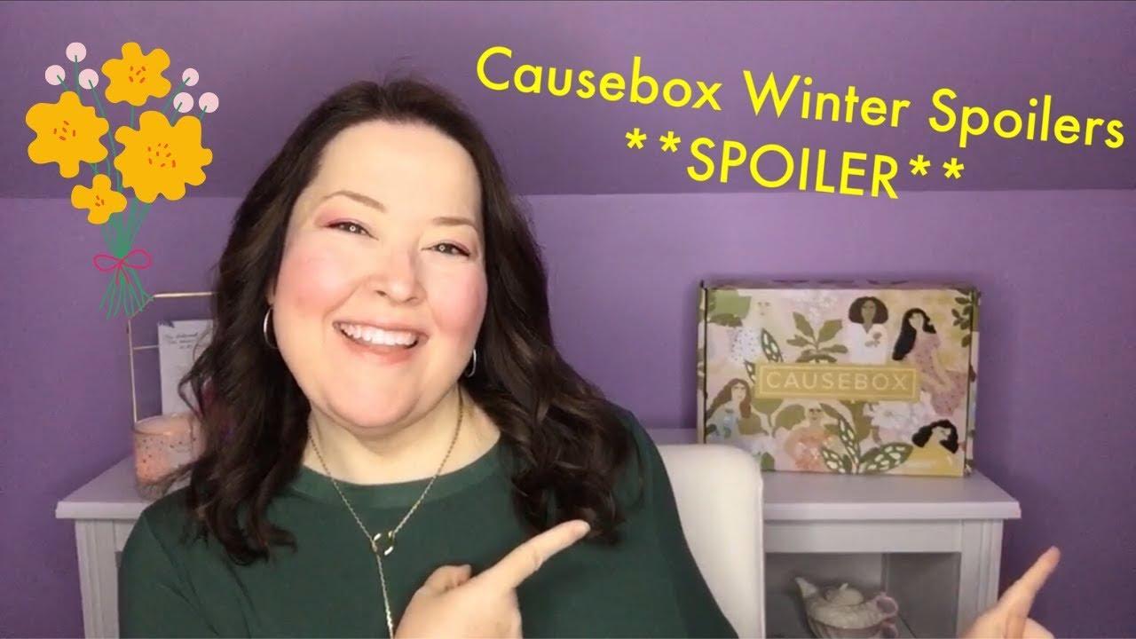 Causebox Fall 2020 Spoilers.Causebox Spoiler Winter 2019 First Spoilers