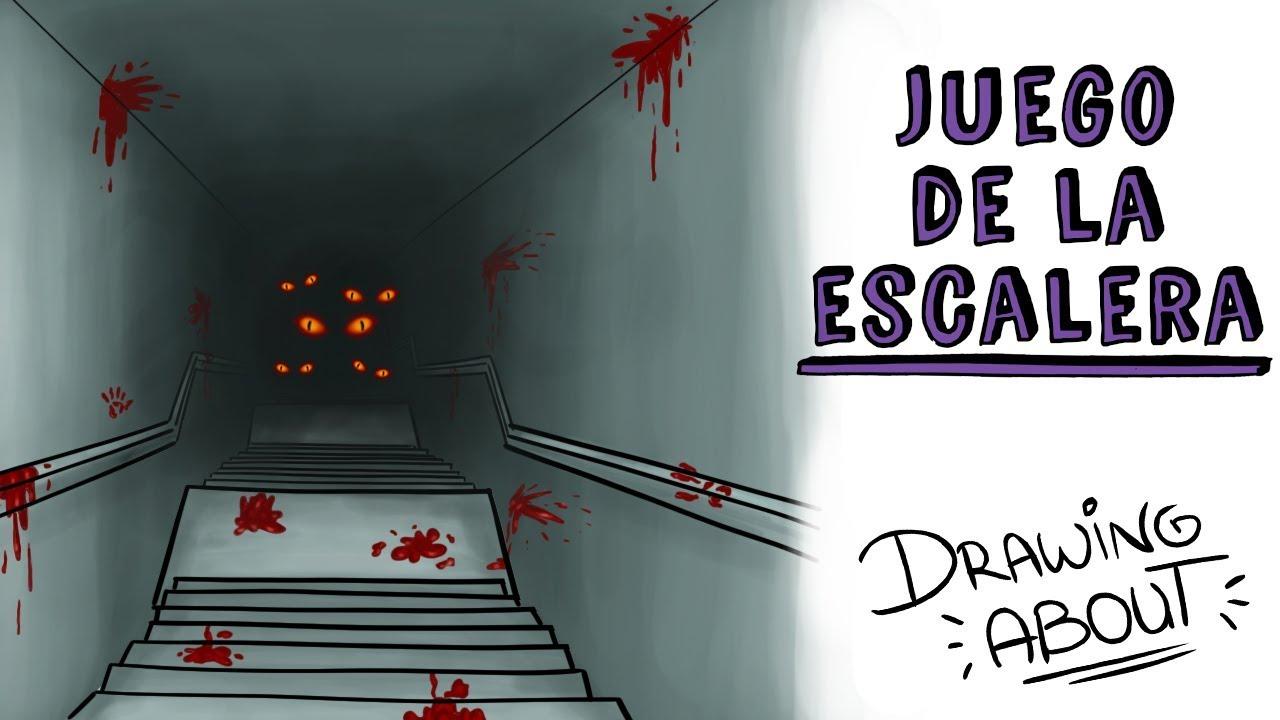 EL JUEGO DE LA ESCALERA | Draw My Life | CREEPYPASTA