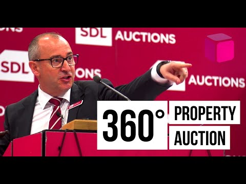 Watch an SDL Auctions property sale in 360 degrees! | Corporate Video Nottingham