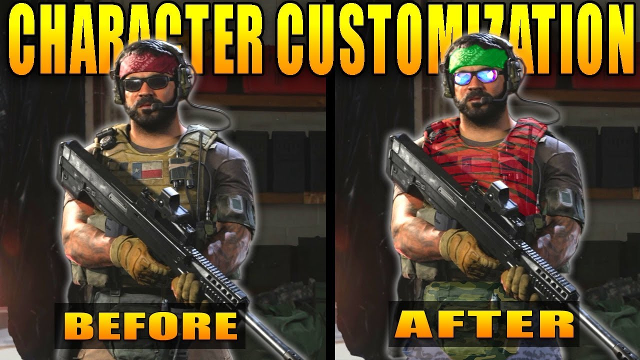 Modern Warfare Character Customization Explained Youtube