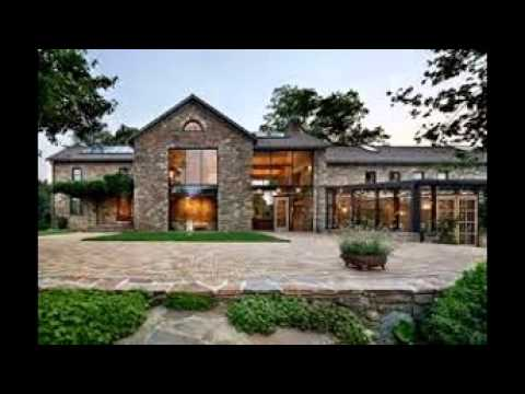 Modern country home designs youtube for Home designs video