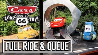 Cars Road Trip FULL NEW RIDE POV - Walt Disney Studios Paris