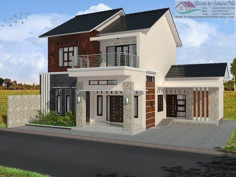 Modern House 9x11 4 K Tidur Desain Rumah Minimalis Lantai 2