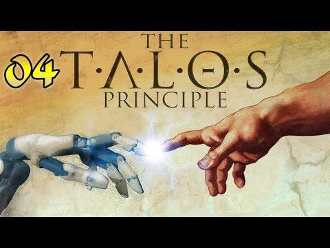 The Talos Principle #4 - Целься в дерево  (Уровень А4, Звезда 1/1) [Level A4, Star 1/1)