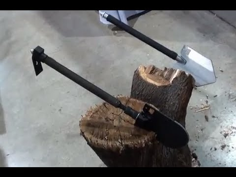 The Crovel Shovel Quot Crobar Shovel Quot Survival Expo Youtube
