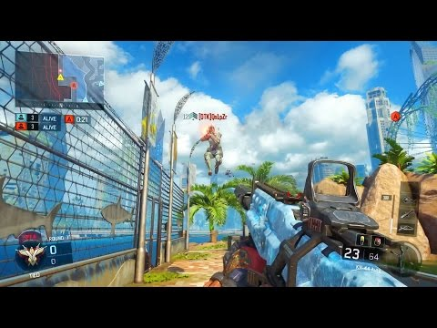 Call of Duty: Black Ops 3 Online - Search & Destroy at Aquarium