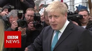 "Boris Johnson: ""I've made up my mind"" on EU - BBC News"