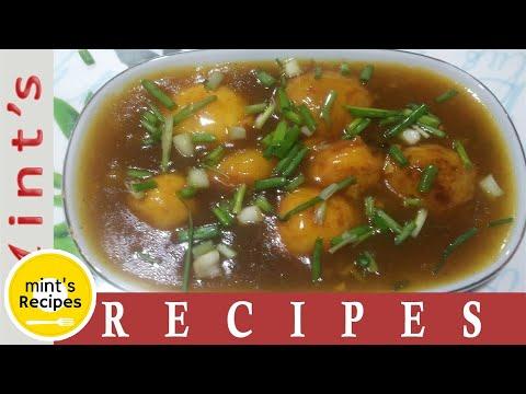 Potato Manchurian Recipe - Manchurian Recipe in Hindi - How To Make Manchurian - Ep-30
