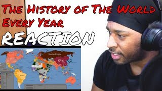 The History of the World: Every Year REACTION | DaVinci REACTS