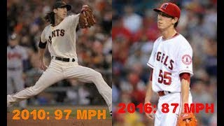 MLB Pitchers Who Lost Their Velocity