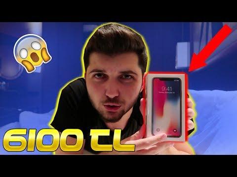 IPHONE X ALDIM!!