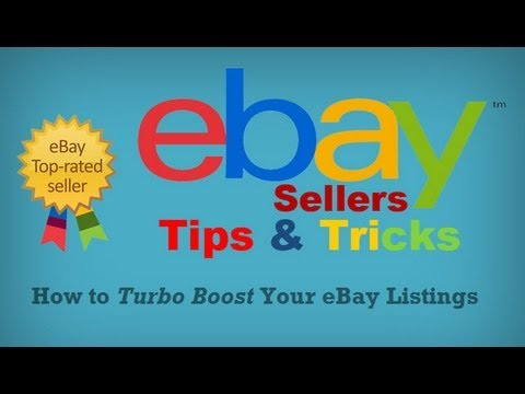 How To Boost Your eBay Listings | eBay Sellers Tips & Tricks