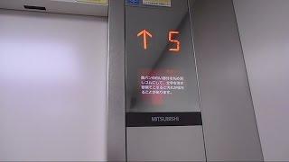 長崎市民病院のエレベーター